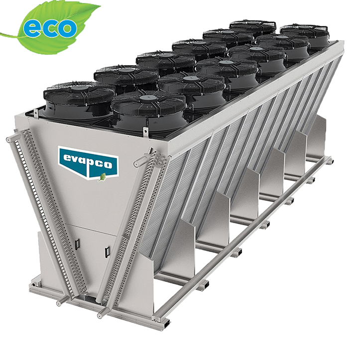 eco-Air Series V-Configuration Industrial Air Cooled Condenser